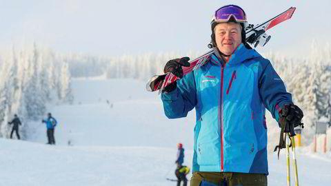 Bosse Halvardsson. her i bakken i Trysil, er Skistars sjef i Norge.