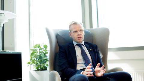 – Jeg er glad for å kunne annonsere dette oppkjøpet, sier konsernsjef Svein Tore Holsether i Yara. Foto: Øyvind Elvsborg