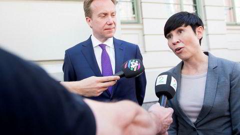 Forsvarsminister Ine Eriksen Søreide (H) kan være et aktuelt navn til å etterfølge Børge Brende (H) som utenriksminister, tror NUPI-forsker.