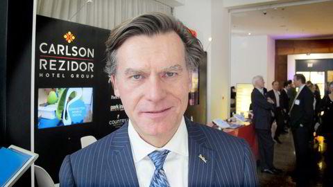 Wolfgang Neumann, konsernsjef i hotellkjeden Rezidor. Foto: Harald Berglihn