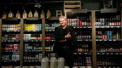 Rolf Ivar Skår som står bak Gulating har fortsatt stor tro på håndverksøl. Denne uken var han med på nyåpning av butikk på Strømmen storsenter.