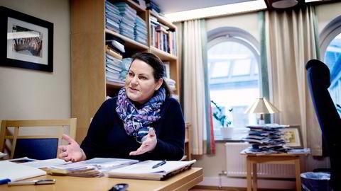 Høyres saksordfører for skattereformen, Siri A. Meling (H), sier ulik beskatning på like spareformer er en uting. Foto: Per Ståle Bugjerde