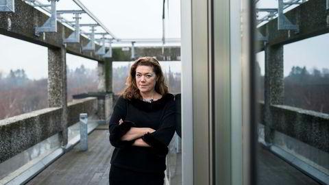 NHO-leder Kristin Skogen Lund. NHO går imot forslaget om et lavterskeltilbud for saker om seksuell trakassering, ifølge NHOs høringssvar.