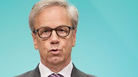 Øystein Olsen, sentralbanksjef. Foto: Per Ståle Bugjerde