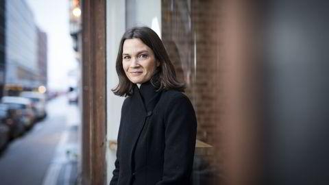 VENTER NEDTUR. Analytiker i Camilla Viland i DNB Markets. FOTO: Skjalg Bøhmer Vold