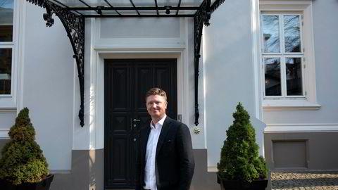 Fra Reitangruppens villa på Uranienborg i Oslo styrer Magnus Reitan familiens private «oljefond».