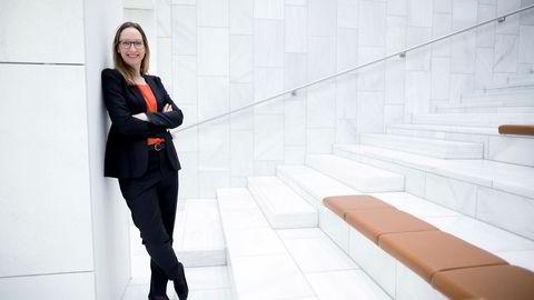 Sjeføkonom Kjersti Haugland i DNB Markets tror forventningen om rentehevinger fremover kan ha hatt en finger med i spillet for nedgangen i boligprisene i juni.
