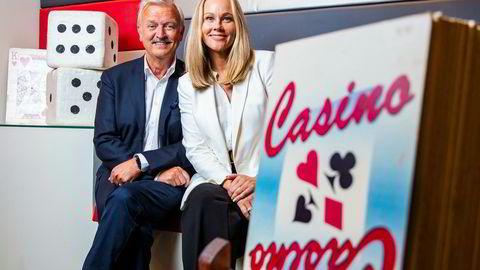 Hallvard Flatland og Birgitte Seyffarth er tilbake i «Casino» på TVNorge.
