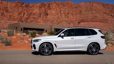 BMW tilbakekaller over 1,6 millioner biler etter problemer med eksoskjøling, der blant annet 30 biler tok fyr i Sør-Korea tidligere i år. Dette er den nye X5 som ikke omfattes av aksjonen.