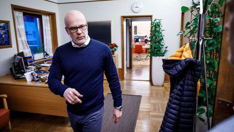 Kringkastingssjef Thor Gjermund Eriksen skal flytte NRK fra Marienlyst.