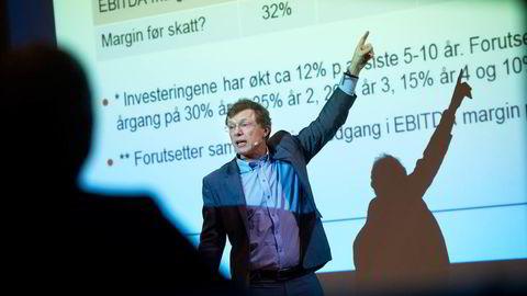 Peter Hermanrud og Swedbank sender hver uke ut en anbefaling på seks aksjer som anbefales kjøpt og seks aksjer som anbefales solgt. Foto: Elin Høyland