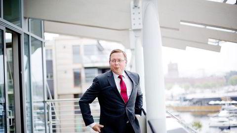 DYREST. Administrerende partner Morten P. Smørdal i BA-HR leder det femte største advokatfirmaet og tar seg best betalt. For de andre firmaene flater det ut. Foto: Mikaela Berg