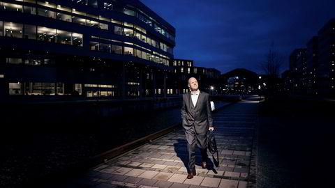 Styreleder Peder Sortland i Acona ser fremover. Han mener ledelsen i selskapet har gjort en heroisk innsats.