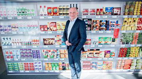 Ica-sjef Thorbjørn Theie mener Ica kunne overlevd og tjent penger i 2016 dersom de hadde fått ja til å samarbeide med Norgesgruppen.  Foto: