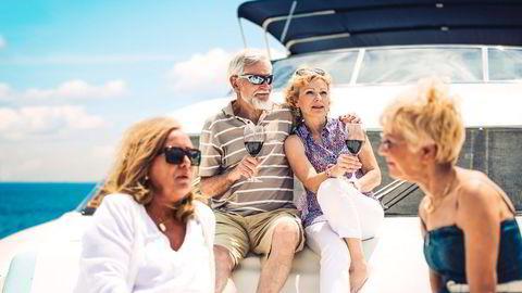 I 10–15 år fremover vil vi være den første og største generasjonen av spreke, velstående pensjonister. Vi vil etterspørre tidkrevende tjenester – innen mat og drikke, reiseliv, helse og kultur. Illustrasjonsfoto: Istock