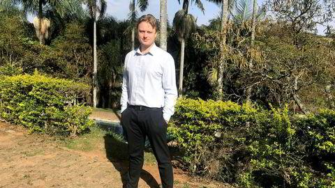 Gründer Magnus Berglund (33) bor og jobber i Brasil, der han driver selskapet Quicktech.