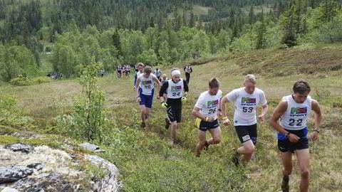 HARDE LØP: To knallharde løp står på terminlista denne helgen. Portfjelløpet (bildet) i Lierne i Nord-Trøndelag og Viking Challenge i Telemark. FOTO: Svein-Tore Hovd/Namdalsavisa