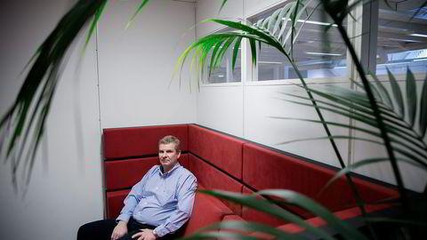 NOV-sjef Tor Henning Ramfjord har på under et år mer enn halvert antallet ansatte i konsernet. Fredag meldte selskapet at ytterligere 520 fast ansatte må gå. Foto: Tomm W. Christiansen
