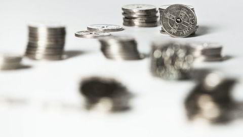 Kronen falt til det svakeste nivået på minst 26 år, ifølge den importveide kronekursindeksen. I år vil kronen styrkes, tror tre norske meglerhus. Foto: Adrian Nielsen