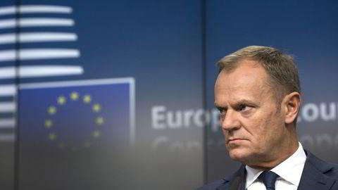 EU-president Donald Tusk. Foto: Reuters / NTB scanpix