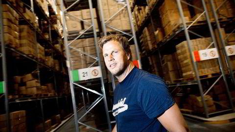 «Ekstremvekst» sier BliVakker-eier og seriegründer Einar Øgrey Brandsdal om mobilhandelen det siste året.