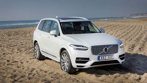 Volvo XC90 T8 er avgiftsvinner for andre år på rad. Ifjor ble det registrert over 1400 av Volvos suv med en gjennomsnittspris på mer enn en million kroner.