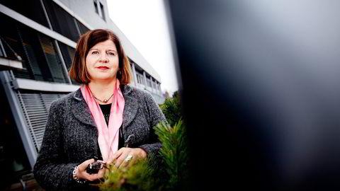 Direktør Randi Flesland i Forbrukerrådet la i torsdag frem halvtårsstatistikken for klager. Foto: