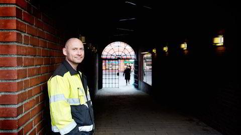 Oslos vann- og avløpsverk har opplevd sterk økning i antall  jobbsøkere etter oljenedturen, ifølge seksjonssjef Bjørn Rosseland. Foto: Per Ståle Bugjerde