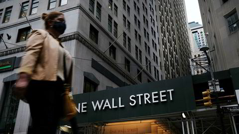 Teknologiaksjene falt på Wall Street etter flere dager med rekordnoteringer.