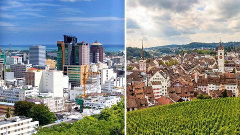 Mange oversjøiske finanssentra som tidligere var skatteparadis, er det ikke lenger. Mauritius er erklært «largely compliant» til Global Forums standarder. Sveits, derimot, er ennå ikke «compliant», skriver artikkelforfatterne. Foto: Istock