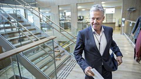 Oslo, 14.05.2014: Konsernsjef Helge Leiro Baastad vil fortsette merkevarebyggingen. Foto: Aleksander Nordahl