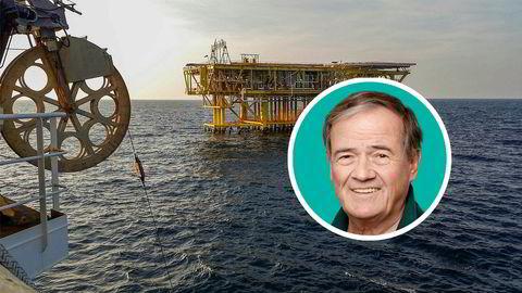 Tannlege Bernt Søyland har satset flere titall millioner kroner på et oppsving i seismikk. De siste tre årene har han tjent 83 millioner kroner gjennom selskapet Bernt Holding as. På bildet ses noder som blir lagt ned på havbunnen på Bokor-feltet i Malaysia for å lete etter olje- og gassforekomster.