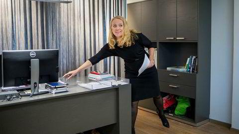 Arbeidsminister Anniken Hauglie (H) vil til livs statlig forsørgerstøtte til pensjonister med utenlandske koner.