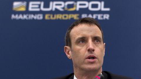 Europols leder Rob Wainwright. Foto: REUTERS/NTB SCANPIX