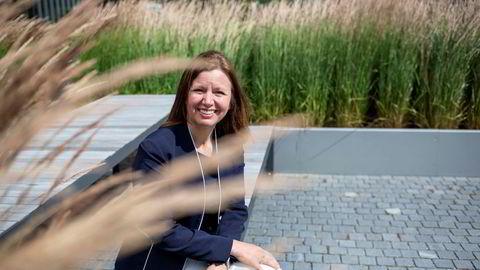 Administrerende direktør Astrid Skarheim Onsum i Aker Offshore Wind.