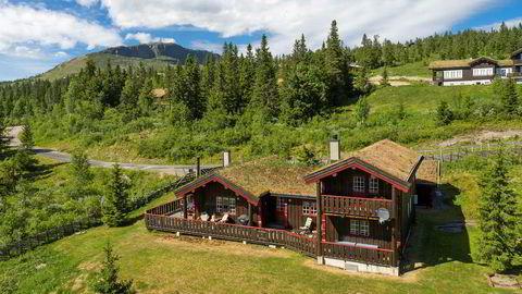 På Skeikampen gikk denne hytta på 140 kvadratmeter for 5,7 millioner kroner nylig.