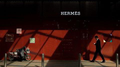 Franske Hermès, som er mest kjent for luksusvesker, er siste selskap som friskmelder det kinesiske luksusforbruket.