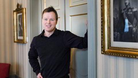 AVKREFTER: Fagdirektør Rolf Mæhle i Finans Norge knuser myter om fastrentelån. Foto: Per Thrana