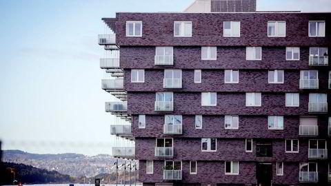 Sekundærboligmarkedet gjorde et hopp mellom 2016 og 2017, da boligprisene i Oslo økte raskt.