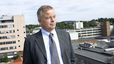 Arne Giske - konserndirektør i Veidekke. Foto: Elin Høyland