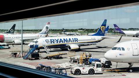 I regnskapsmessig første kvartal (april-juni) fløy Ryanair 41,9 millioner passasjerer, som er en oppgang på 11 prosent fra samme periode året før.