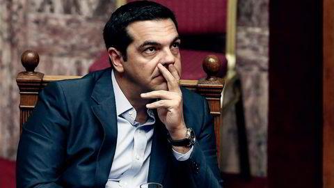 Hellas' statsminister Aleksis Tsipras. Foto: Yorgos Karahalis,