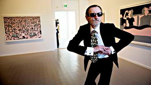 Kunstner Terje Brofos, alias Hariton Pushwagner, døde tirsdag. Han ble 77 år gammel.