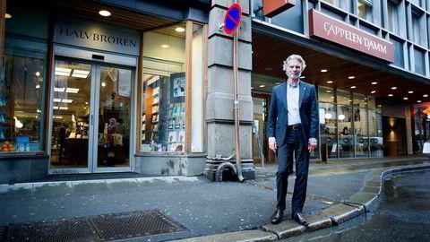 Tom Harald Jenssen og Cappelen Damm har et rekordår bak seg. Foto: Mikaela Berg
