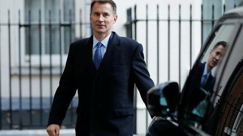 Storbritannias utenriksminister Jeremy Hunt håper fortsatt på muligheten for en god brexitavtale.