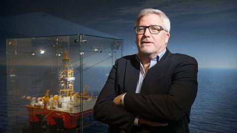 Seadrill får forlenget kontrakter. På bildet Seadrill-sjef Per Wullf. Foto: Marte Lundby Rekaa