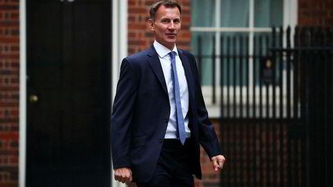 Storbritannias utenriksminister Jeremy Hunt kommer med alvorlige anklager mot Russland.