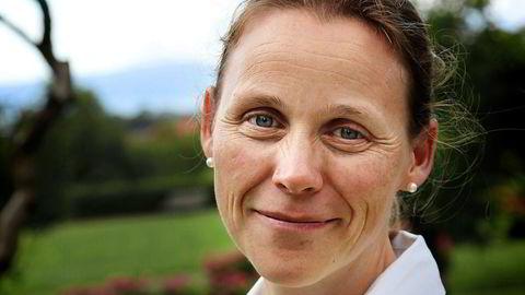 Lise Randeberg er president i fagforeningen Tekna. Foto: Stein Jarle Olsen/Pressefoto