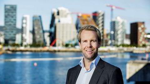 Sjeføkonom Christian Frengstad Bjerknes i NBBL tror boligprisene skal opp fire prosent i år. – Men vi er mer usikre i år enn vi var i fjor, sier han.
