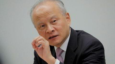 Kinas USA-ambassadør Cui Tiankai.